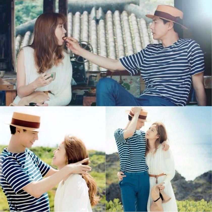 Jo In Sung stripes