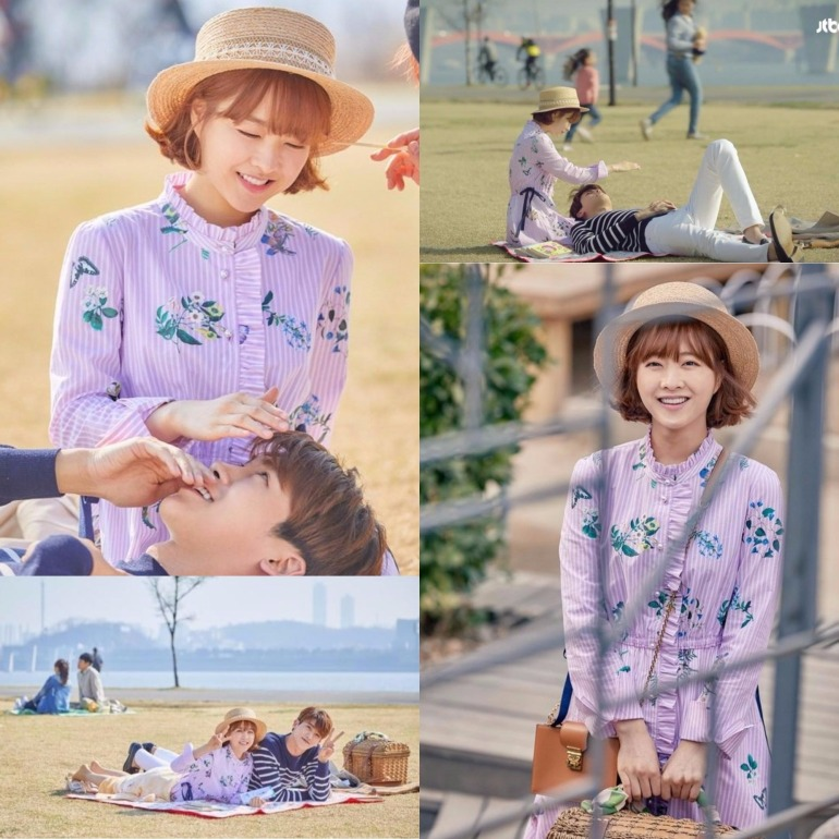 Park bo young floral