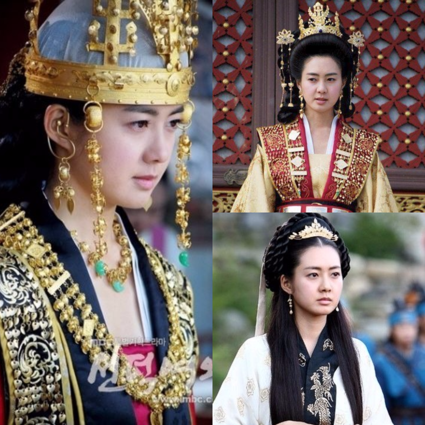Queen Seondeok collage.png