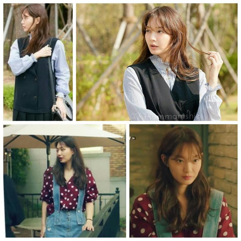 Shin Min Ah layers