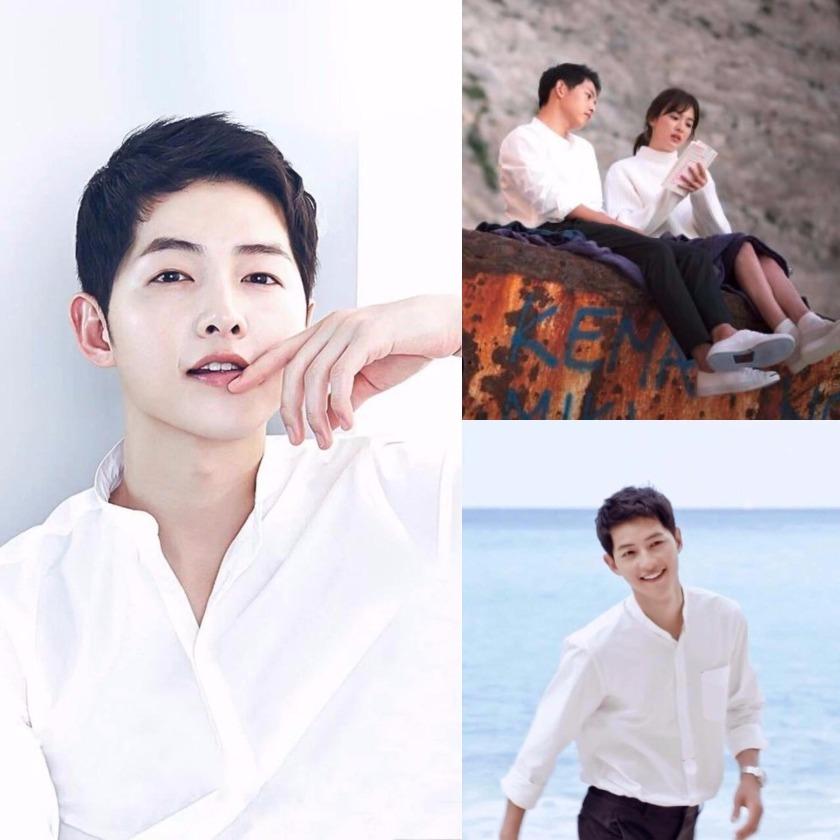 Song Joong-ki Linen