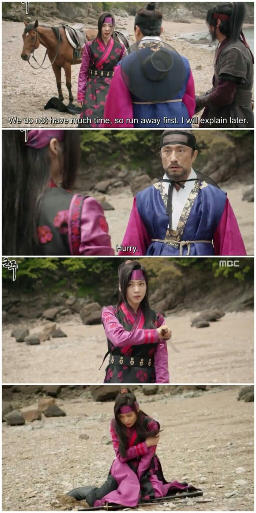 Ruler Master of the Mask ep 13 14 hwa gun betray
