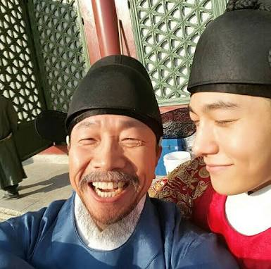 Ruler Master of the Mask ep 15 16 behing the scene