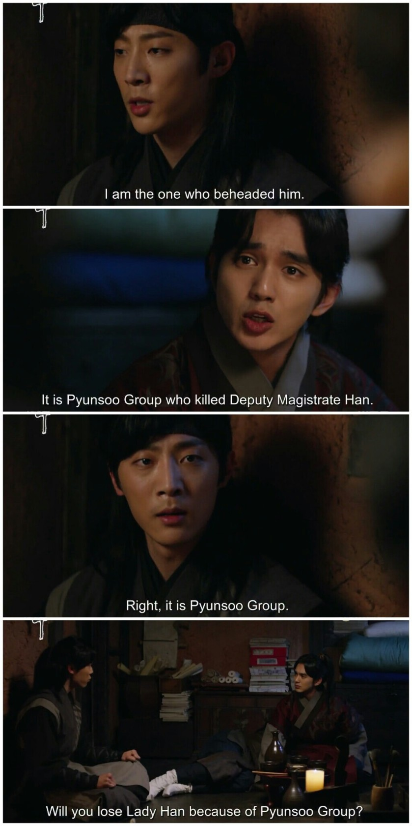 Ruler Master of the Mask ep 15 16 prince lee sun