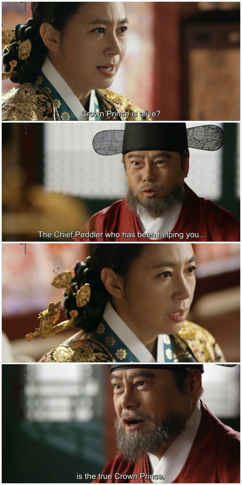 Ruler Master of the Mask ep 21 22 queen