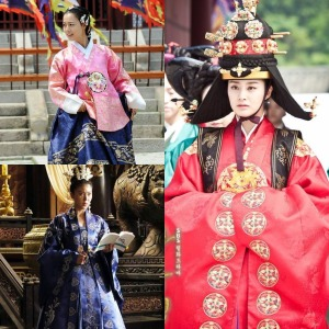 women royal hanbok