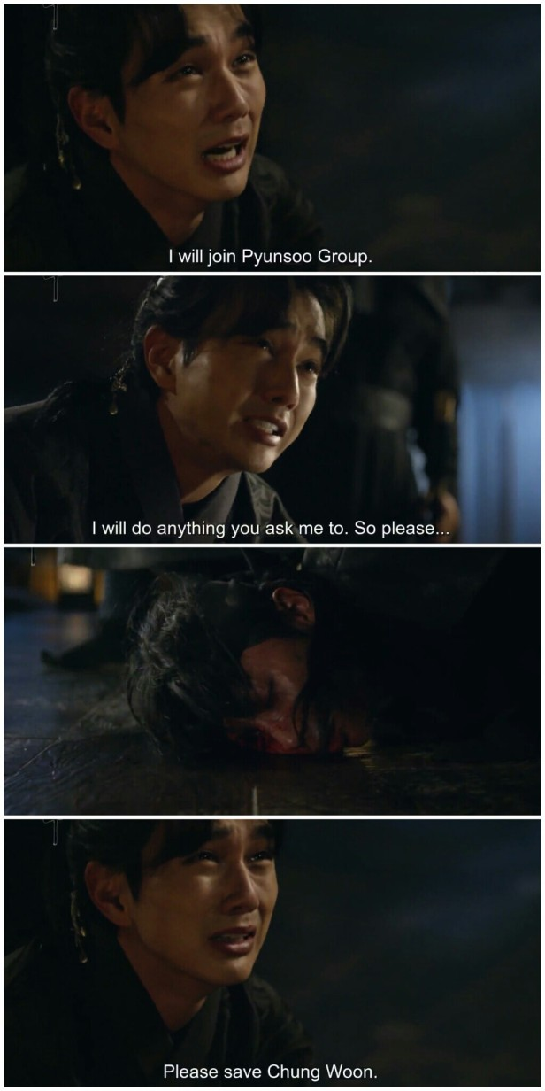 Ruler Master of the Mask ep 29 30 chung woon dead