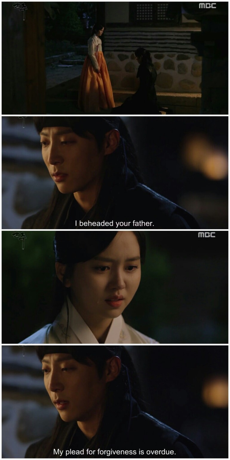 Ruler Master of the Mask ep 29 30 chung woon sorry