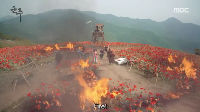 Ruler Master of the Mask ep 31 32 poppy field fire