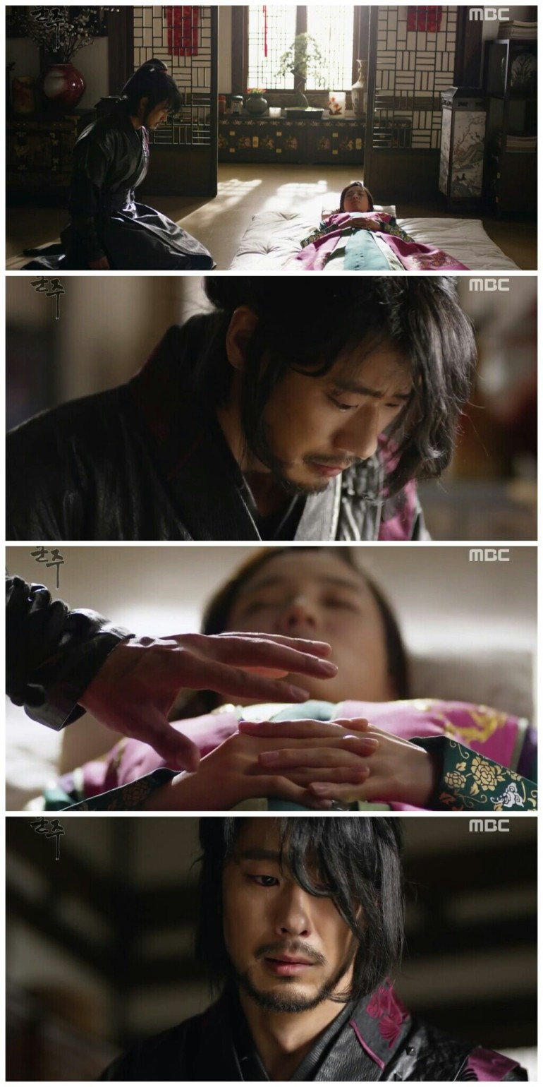 Ruler Master of the Mask ep 33 34 gon cry