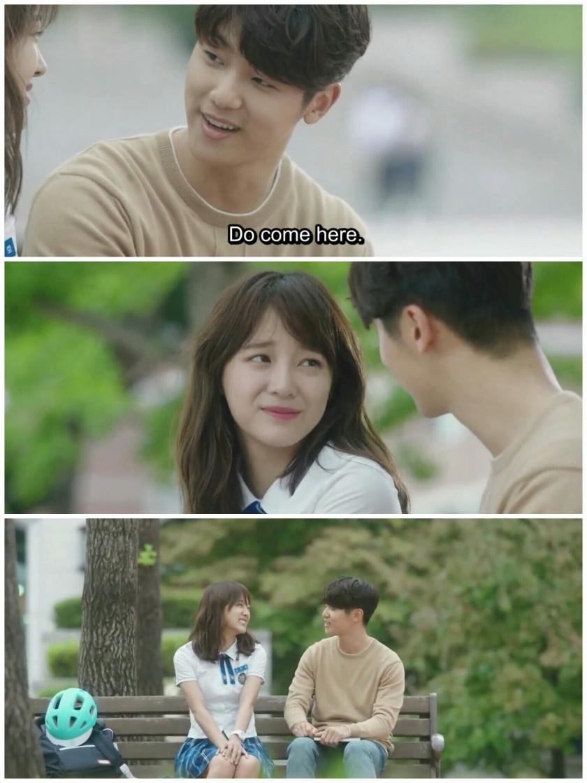School 2017 Ep 1 cameo kang minhyuk sejeong