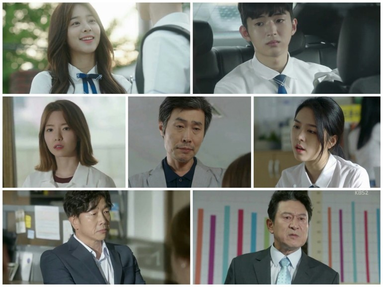 School 2017 Ep 1 supporting cast students teachers