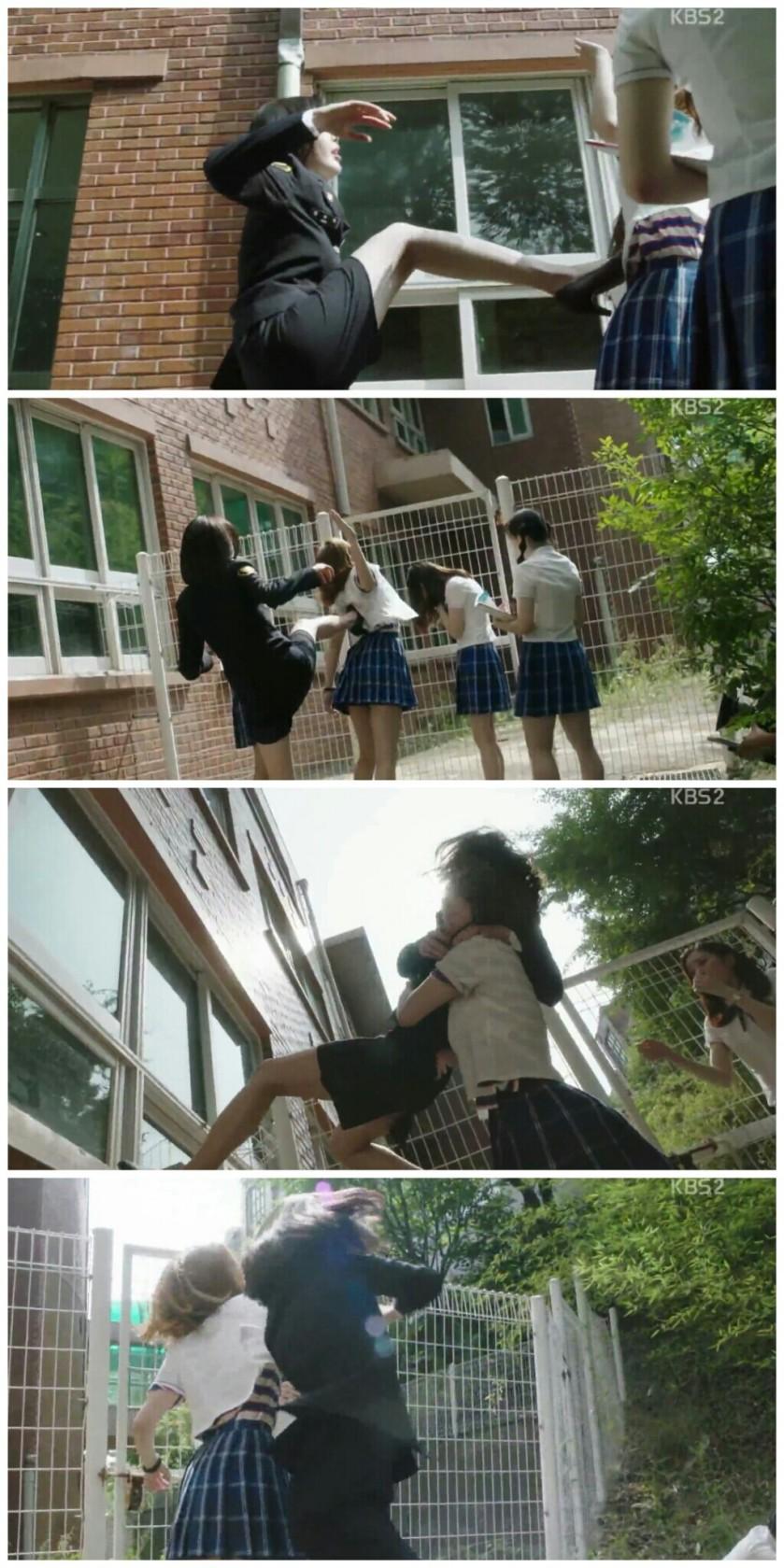 School ep 2 sunhwa beating bullies