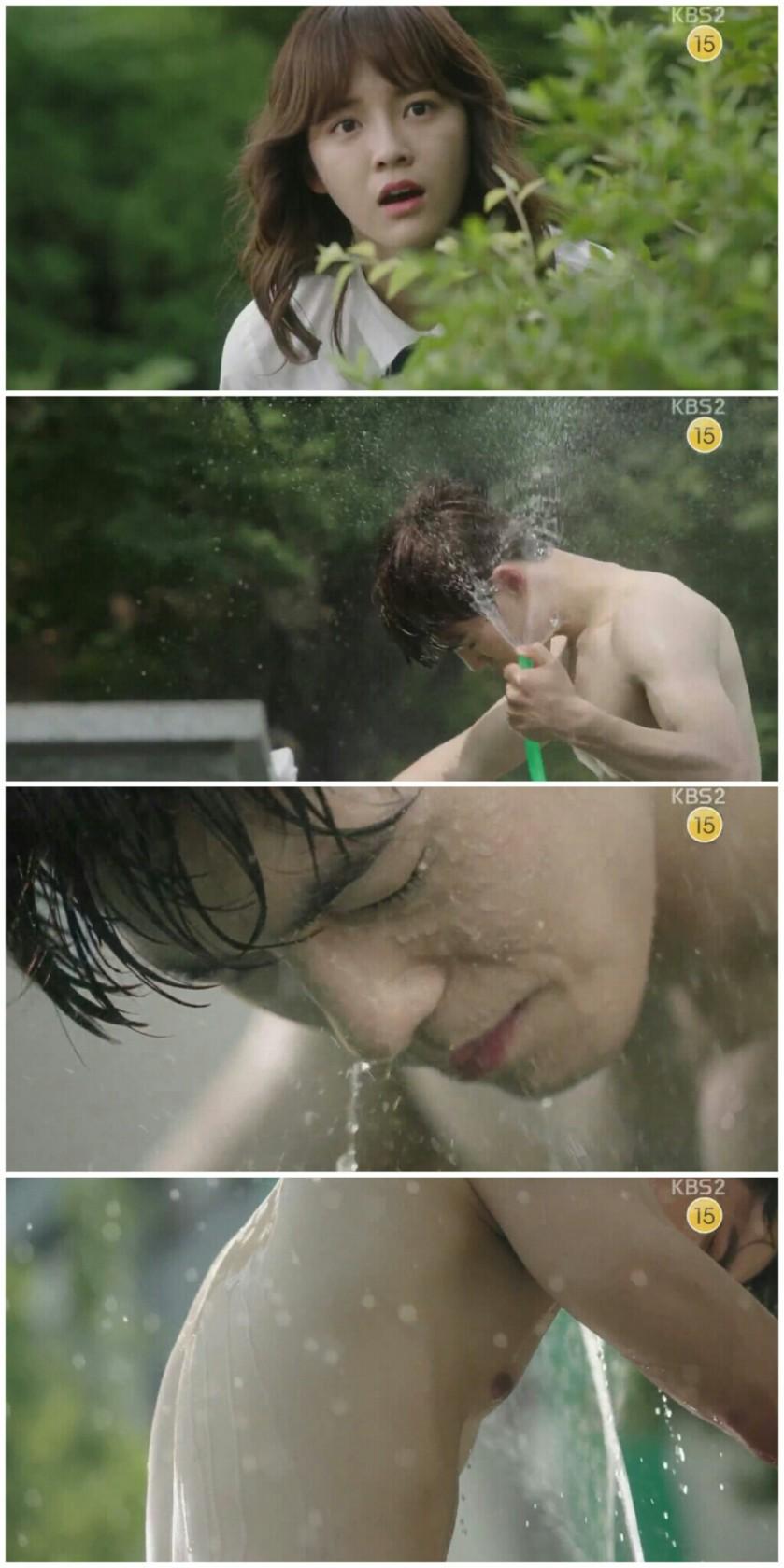 School ep 2 taewoon kim junhyung abs shirtless