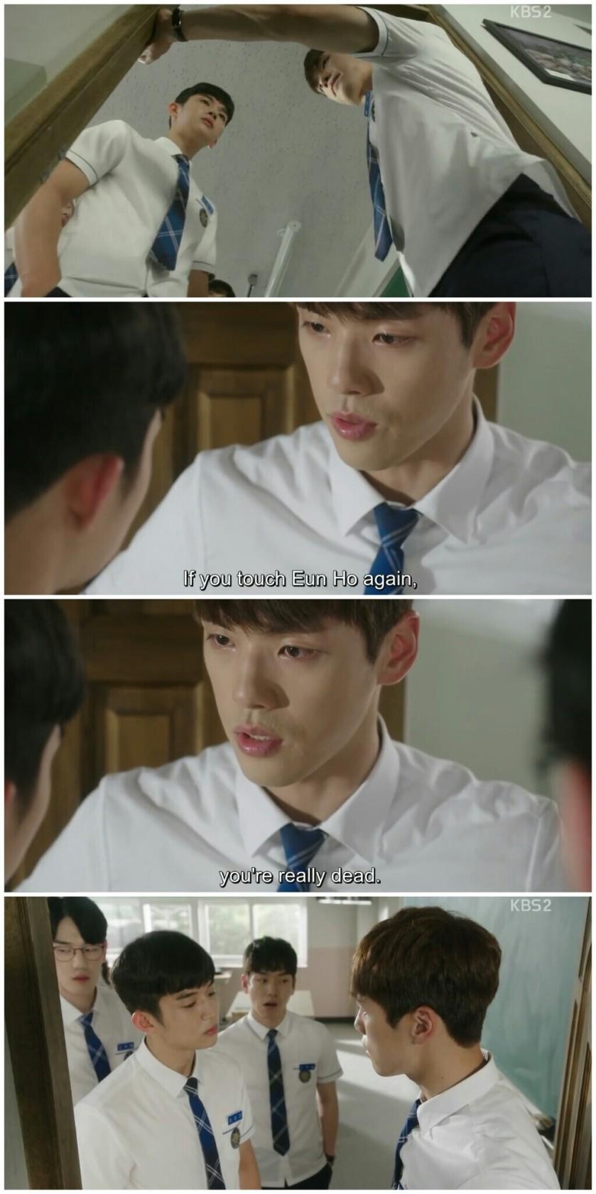 School 2017 ep 9hyun tae woon vs kim hee chan