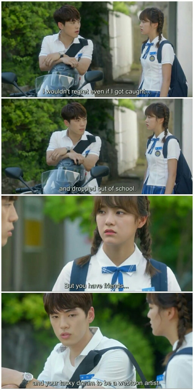 school 2017 ep 5 eunho taewoon sweet