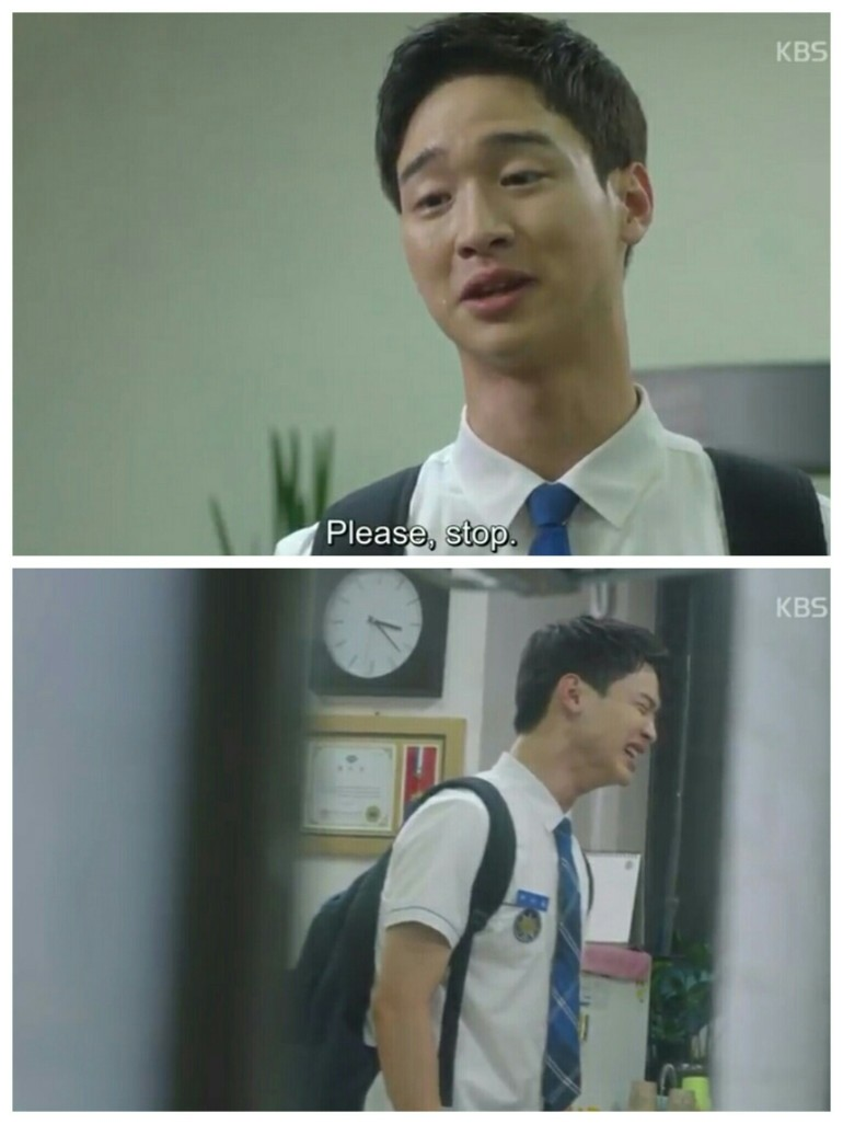 school 2017 ep 5 jang dong yoon daehwi cry