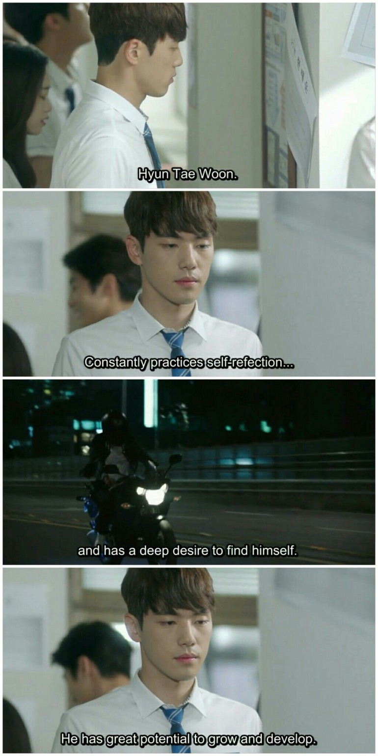 school 2017 ep 6 evaluation hyung tae woon