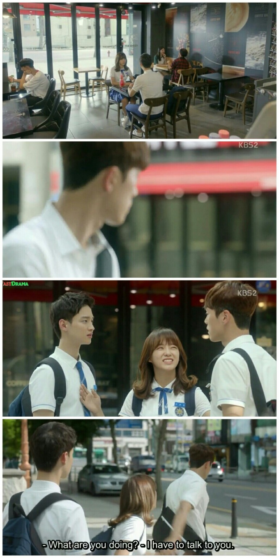 school 2017 ep 6 tae woon dae hwi jealous