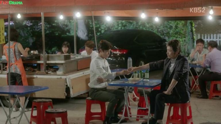 school 2017 ep 6 teacher shim koo soju drunk