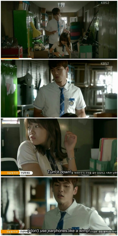 School 2017 ep 7 hyun tae woon earphones ra eun ho sejeong kim jung hyun