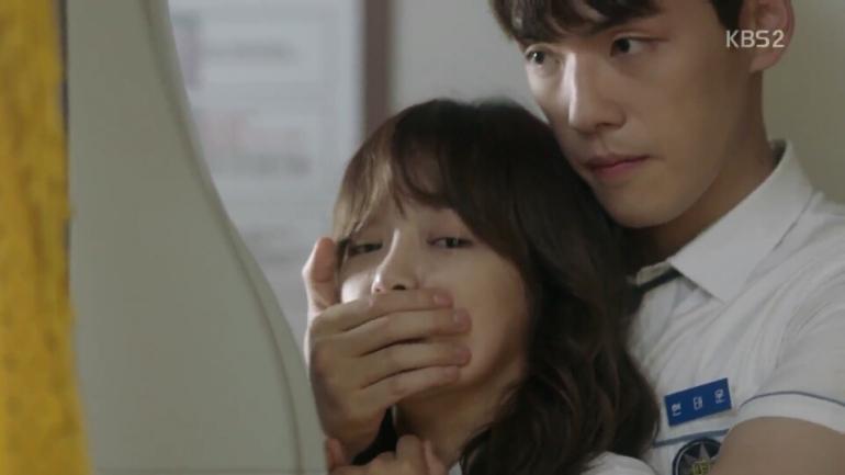 School 2017 Episode 3 back hug eunho taehyun