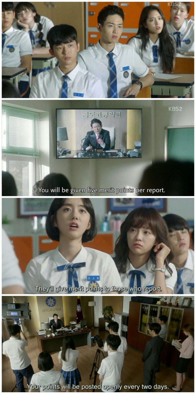 School 2017 Episode 3 geumdo high school demerit