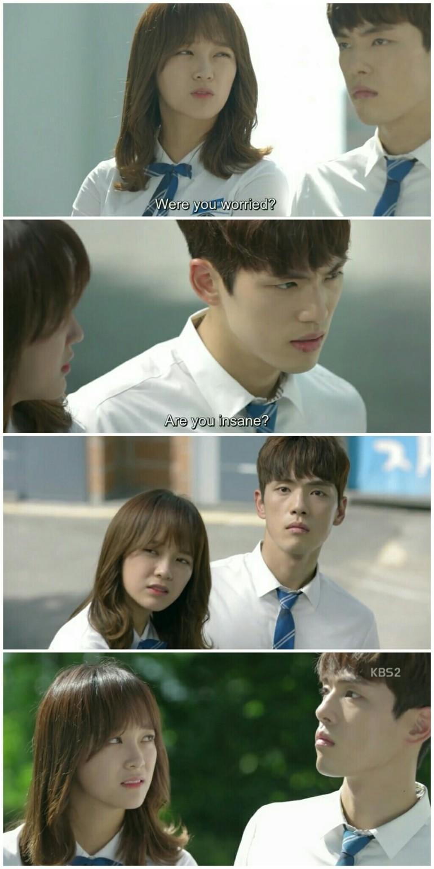 School ep 8 hyun taewoon worried kim jung hyun