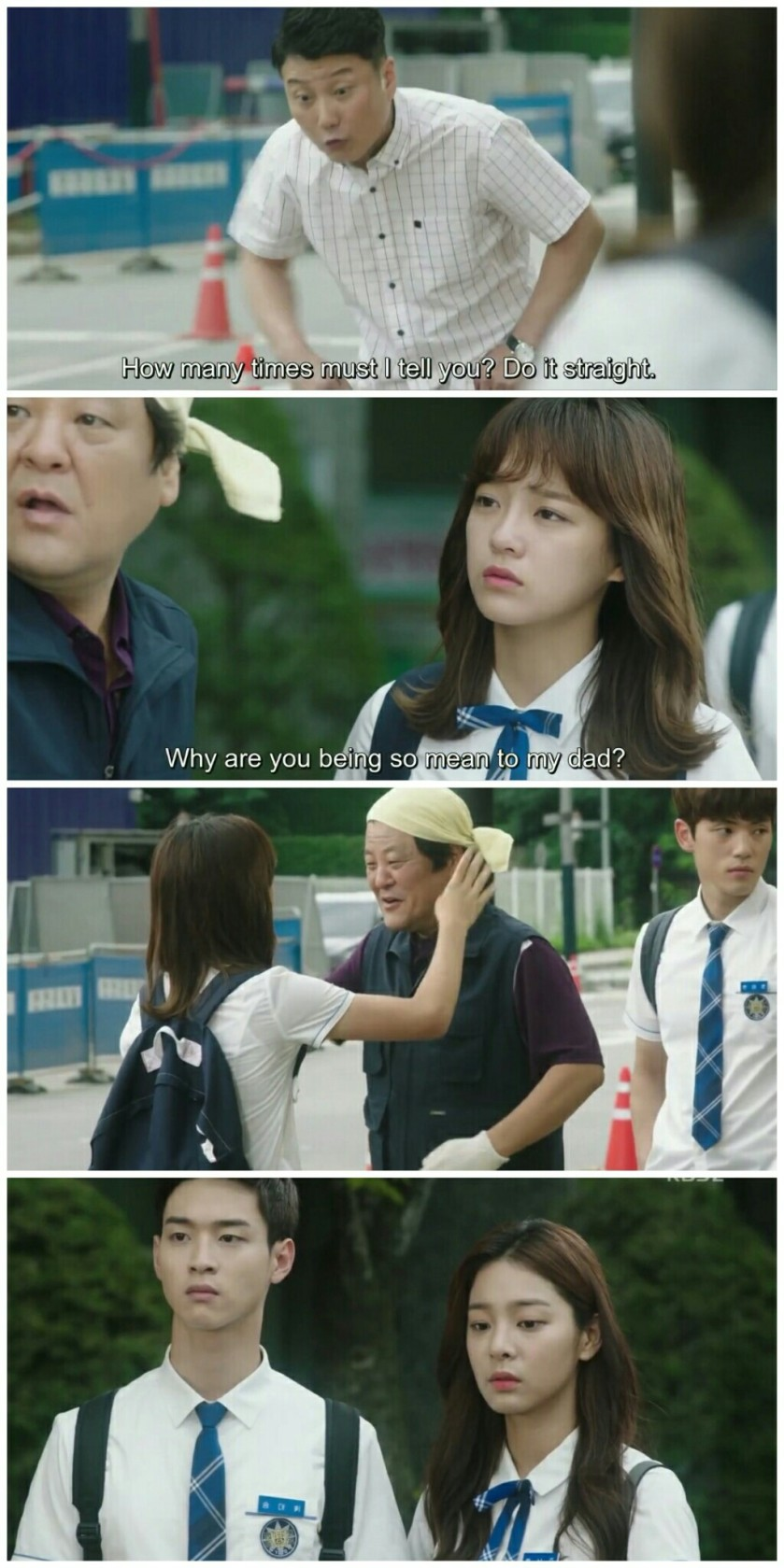 School ep 8 ra eunho father kim sejeong