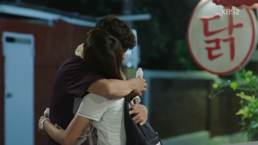 School ep 8 ra eunho hugging dad kim sejeong