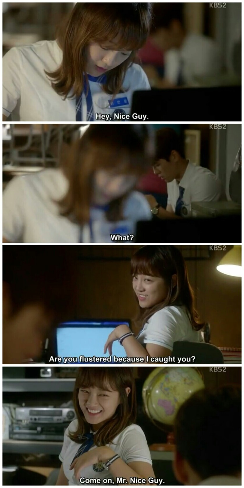 School 2017 ep 11 ra eun ho hyun tae woon mr nice guy