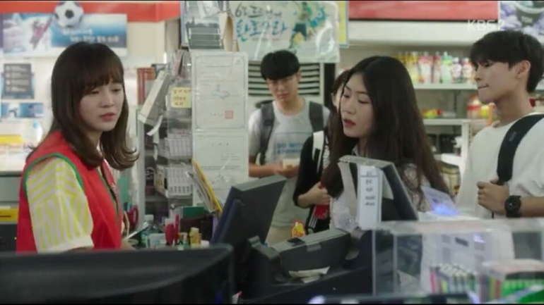School 2017 ep 11 ra eun ho working convenience store part time