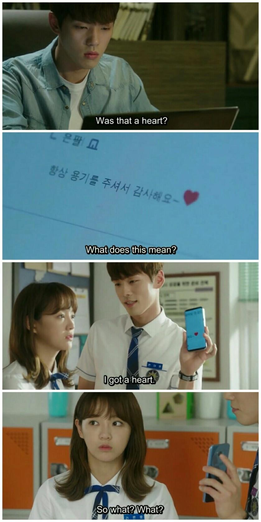 School 2017 ep 12 hyun tae woon heart emoticon ra eunho