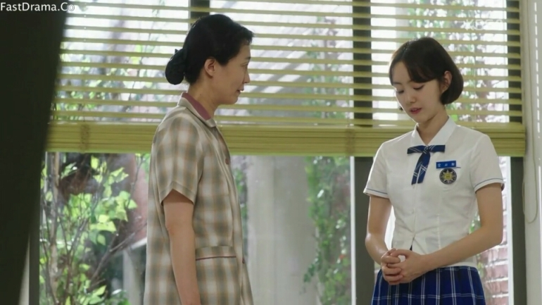 school 2017 ep 12 oh saranh and mom fight noodles