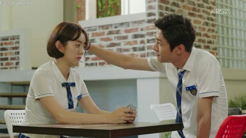 school 2017 ep 12 yoon kyungwoo oh sarang crying