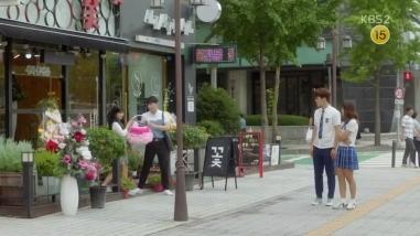School 2017 ep 14 hyun tae woon ra eun ho flower shop