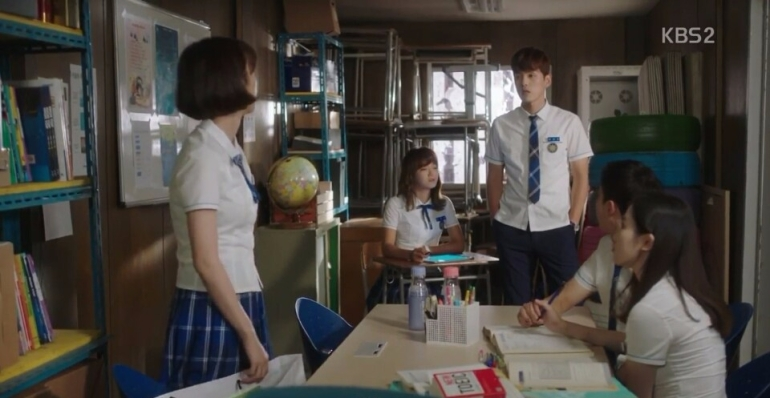 School 2017 ep 14 oh sa rang fight with hyun tae woon