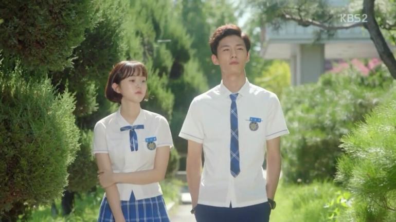 School 2017 ep 14 oh sa rang yoon kyung woo park sewan seo jihoon