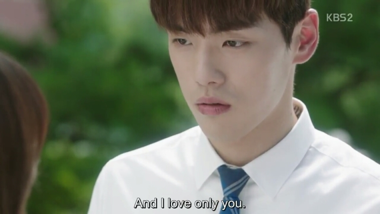 school 2017 ep 15 hyun tae woon tells ra eun ho i only love you