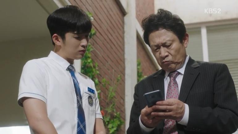 school 2017 ep 15 kim hee chan principal yang webtoon