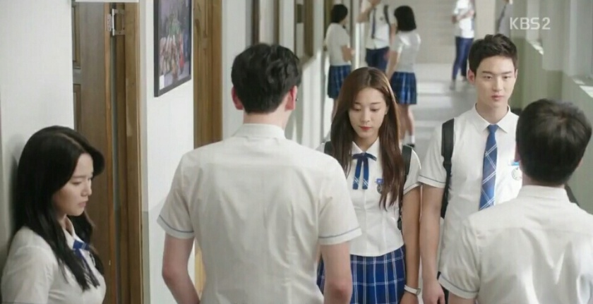 School 2017 episode 16 finale nam joo goes back to school with dae hwi