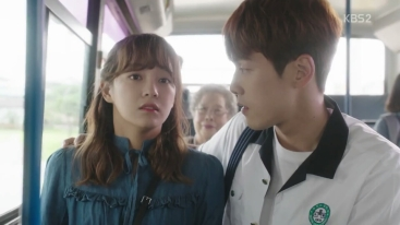 School 2017 episode 16 finale ra eun ho riding bus