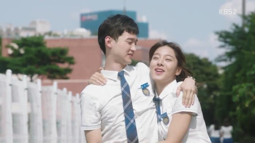 School 2017 episode 16 finale song ade hwi hong namjoo sweet couple