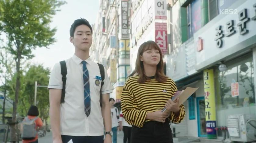 School 2017 episode 16 finale song dae hwi convincing ra eun ho