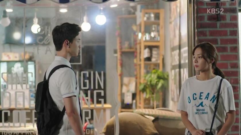 School 2017 episode 16 finale song dae hwi hong namjoo sweet cafe