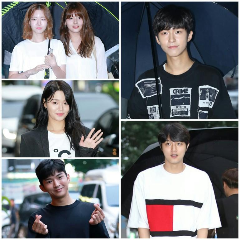 school 2017 finale party speed choi sung min zhera yoo bit na kim hee chan hong kyung won byung goo hwang young gun ha seung ri choi hyun jung song yoo jung