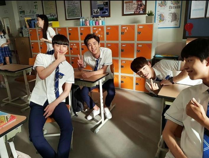 School 2017 seo jihoon kim junghyun choi sungmin hong kyung kyung woo tae woon