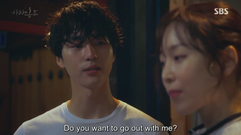 Temperature of Love Ep 1 On Jung Sung asks Lee Hyun Soo to date him