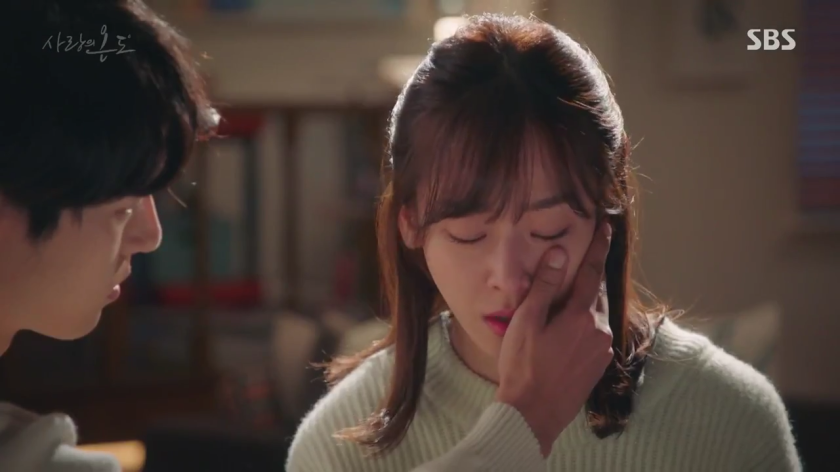 Temperature of Love Ep 11 12 on jung sun comforts lee hyun soo