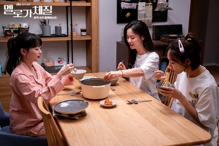 Im Jin-joo, Lee Eun-jung, and Hwang Han-joo (Be Melodramatic)